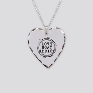 Love Boat Addict Necklace Heart Charm