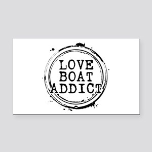 Love Boat Addict Rectangle Car Magnet