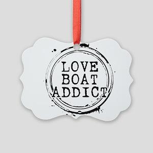 Love Boat Addict Picture Ornament