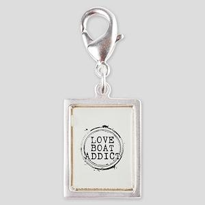 Love Boat Addict Silver Portrait Charm