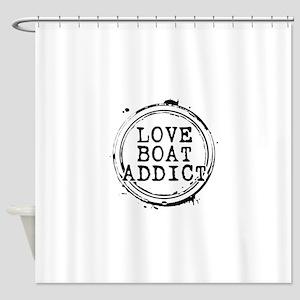 Love Boat Addict Shower Curtain