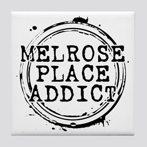Melrose Place Addict Tile Coaster