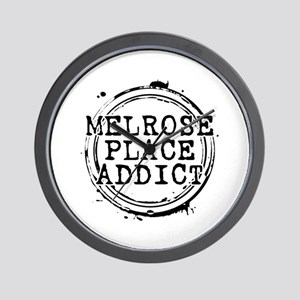 Melrose Place Addict Wall Clock