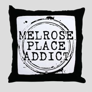 Melrose Place Addict Throw Pillow