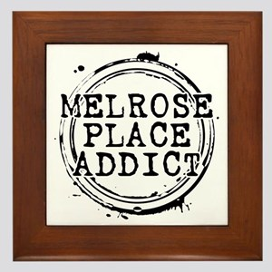 Melrose Place Addict Framed Tile