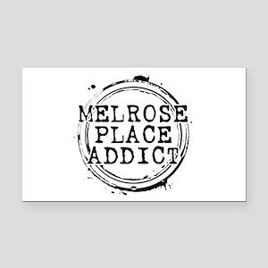 Melrose Place Addict Rectangle Car Magnet