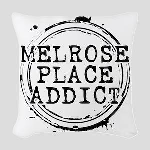 Melrose Place Addict Woven Throw Pillow