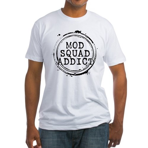 Mod Squad Addict Fitted T-Shirt