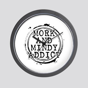 Mork and Mindy Addict Wall Clock