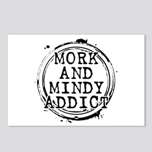 Mork and Mindy Addict Postcards (Package of 8)