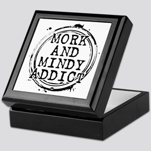 Mork and Mindy Addict Keepsake Box