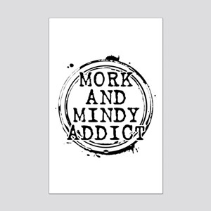 Mork and Mindy Addict Mini Poster Print