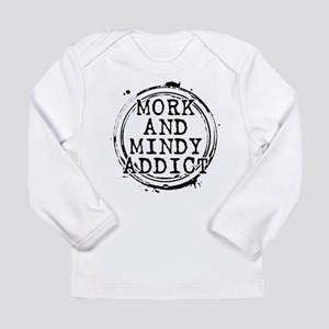 Mork and Mindy Addict Long Sleeve Infant T-Shirt