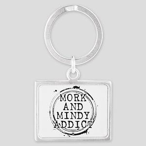 Mork and Mindy Addict Landscape Keychain