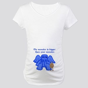 My Monster (too)... Maternity T-Shirt