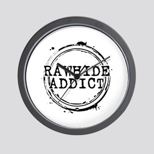 Rawhide Addict Wall Clock