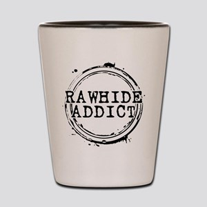 Rawhide Addict Shot Glass