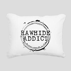 Rawhide Addict Rectangular Canvas Pillow