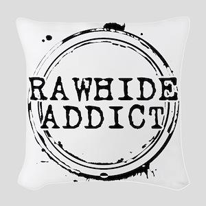 Rawhide Addict Woven Throw Pillow