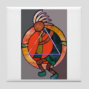 Kokopeli JOY Tile Coaster