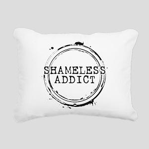 Shameless Addict Rectangular Canvas Pillow