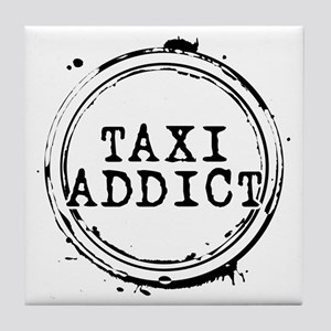 Taxi Addict Tile Coaster