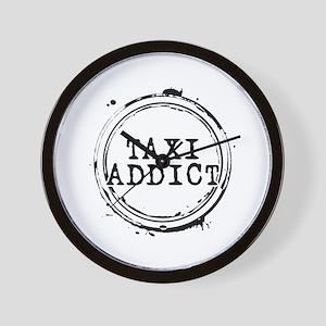 Taxi Addict Wall Clock