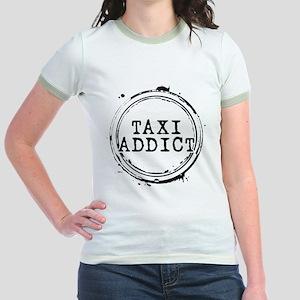 Taxi Addict Jr. Ringer T-Shirt