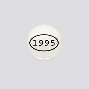 1995 Oval Mini Button
