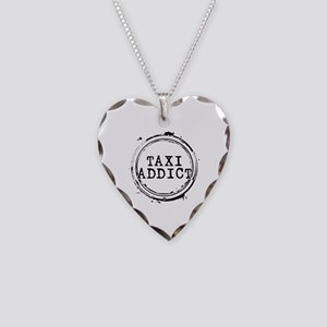 Taxi Addict Necklace Heart Charm