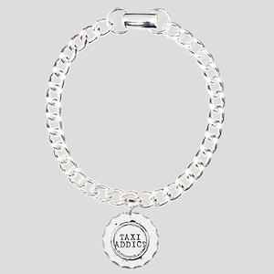 Taxi Addict Charm Bracelet, One Charm