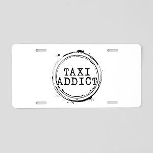 Taxi Addict Aluminum License Plate