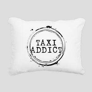 Taxi Addict Rectangular Canvas Pillow