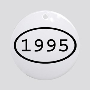 1995 Oval Ornament (Round)