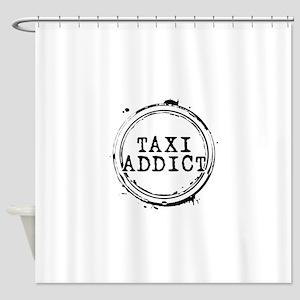 Taxi Addict Shower Curtain