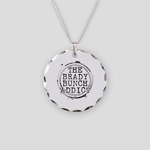The Brady Bunch Addict Necklace Circle Charm