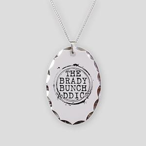 The Brady Bunch Addict Necklace Oval Charm