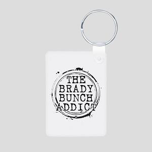 The Brady Bunch Addict Aluminum Photo Keychain