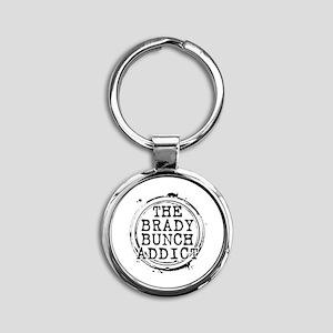 The Brady Bunch Addict Round Keychain