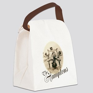 The Hamptons Canvas Lunch Bag
