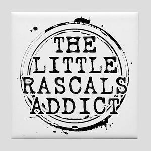 The Little Rascals Addict Tile Coaster