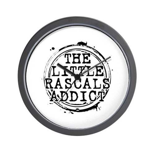 The Little Rascals Addict Wall Clock