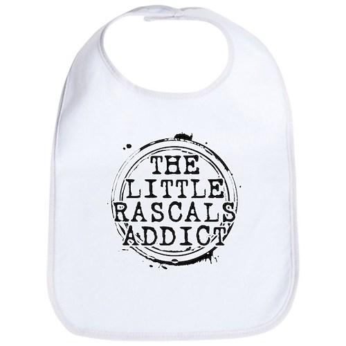 The Little Rascals Addict Bib