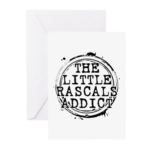 The Little Rascals Addict Greeting Cards (10 pack)