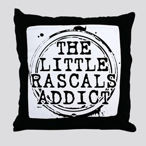 The Little Rascals Addict Throw Pillow