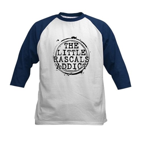 The Little Rascals Addict Kids Baseball Jersey