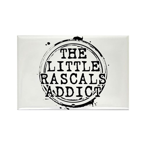 The Little Rascals Addict Rectangle Magnet