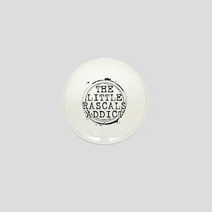The Little Rascals Addict Mini Button