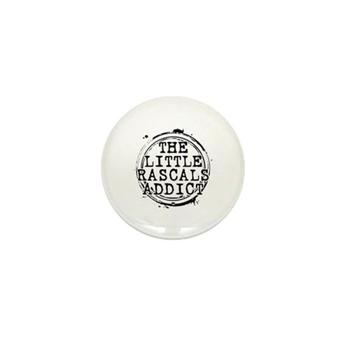 The Little Rascals Addict Mini Button (100 pack)