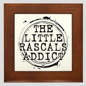 The Little Rascals Addict Framed Tile